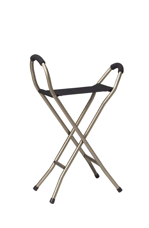 Cane with sling seat